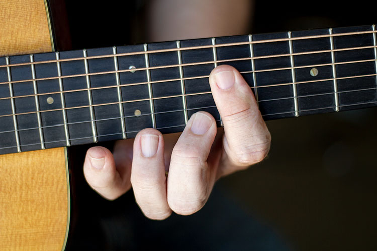Video Lesson Using The Caged System With The 12 Bar Blues