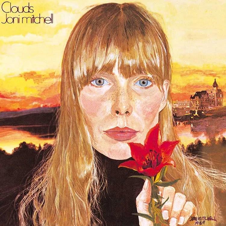 "Joni Mitchell album cover ""Clouds"""