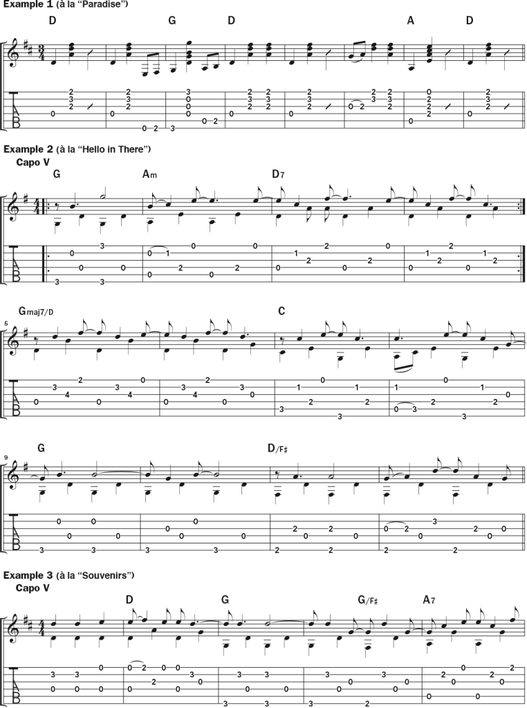 john prine acoustic guitar lesson notation sheet 1