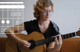 Kate Koenig teaching the A minor chord