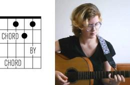 Kate Koenig teaching an A diminished chord