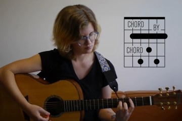 Kate Koenig giving a lesson on 7 Ways to Play a C Major 7