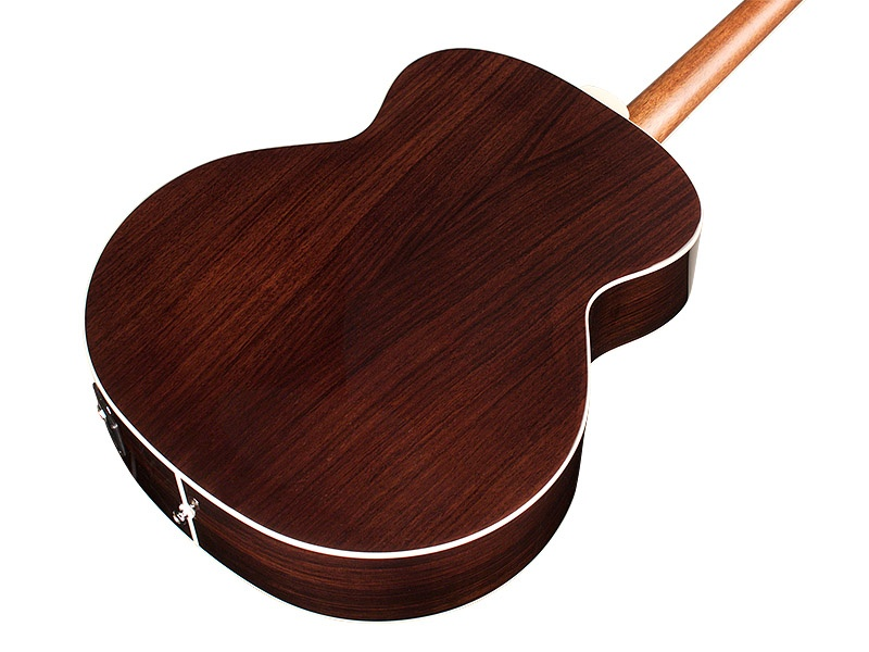back shot of Guild BT-258E Deluxe 8-String Baritone guitar