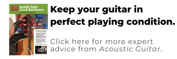 acoustic guitar care & maintenance - keep your guitar in perfect playing condition