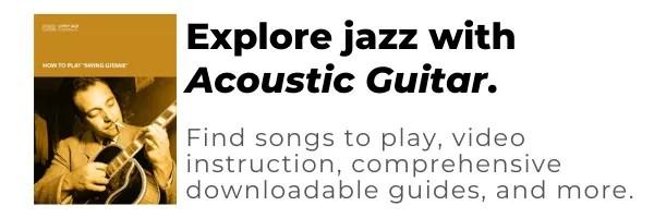 acoustic guitar jazz guitar lessons