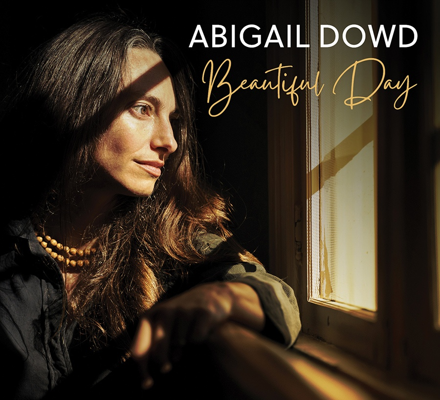 """The cover of folk singer-songwriter and acoustic guitarist Abigal Down's album """"Beautiful Day"""""""