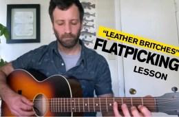 Alan Barnosky Flatpicking Guitar Lesson video still