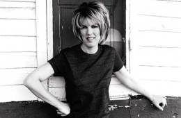 lucinda williams black-and-white portrait by shelby lee adams