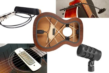Acoustic Guitar pickup and mic roundup
