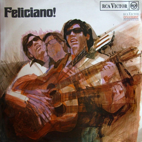 Jose Feliciano album cover, Feliciano!