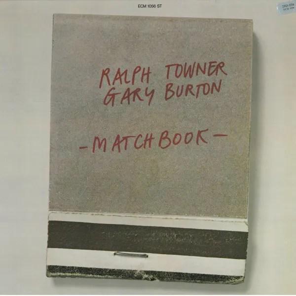 Ralph Towner/Gary Burton album cover, Matchbook