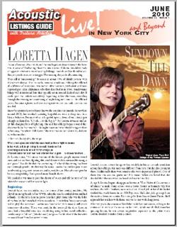 Loretta Hagen Sundown Till Dawn By Richard Cuccaro Original Photo Tracy Stoft Collage W Sky