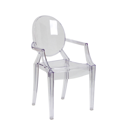 ghost chair rental target dining covers w arms with ac party rentals