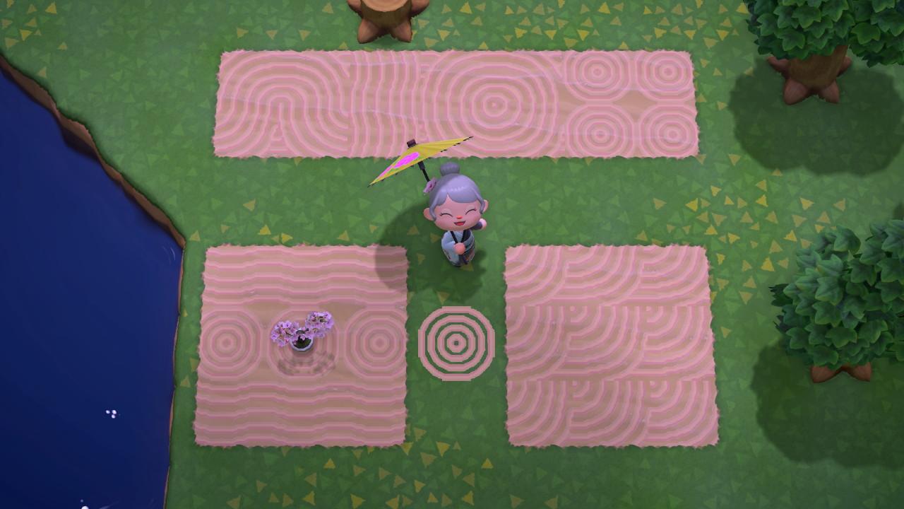 Zen Sand Pattern Set - Animal Crossing Pattern Gallery ...