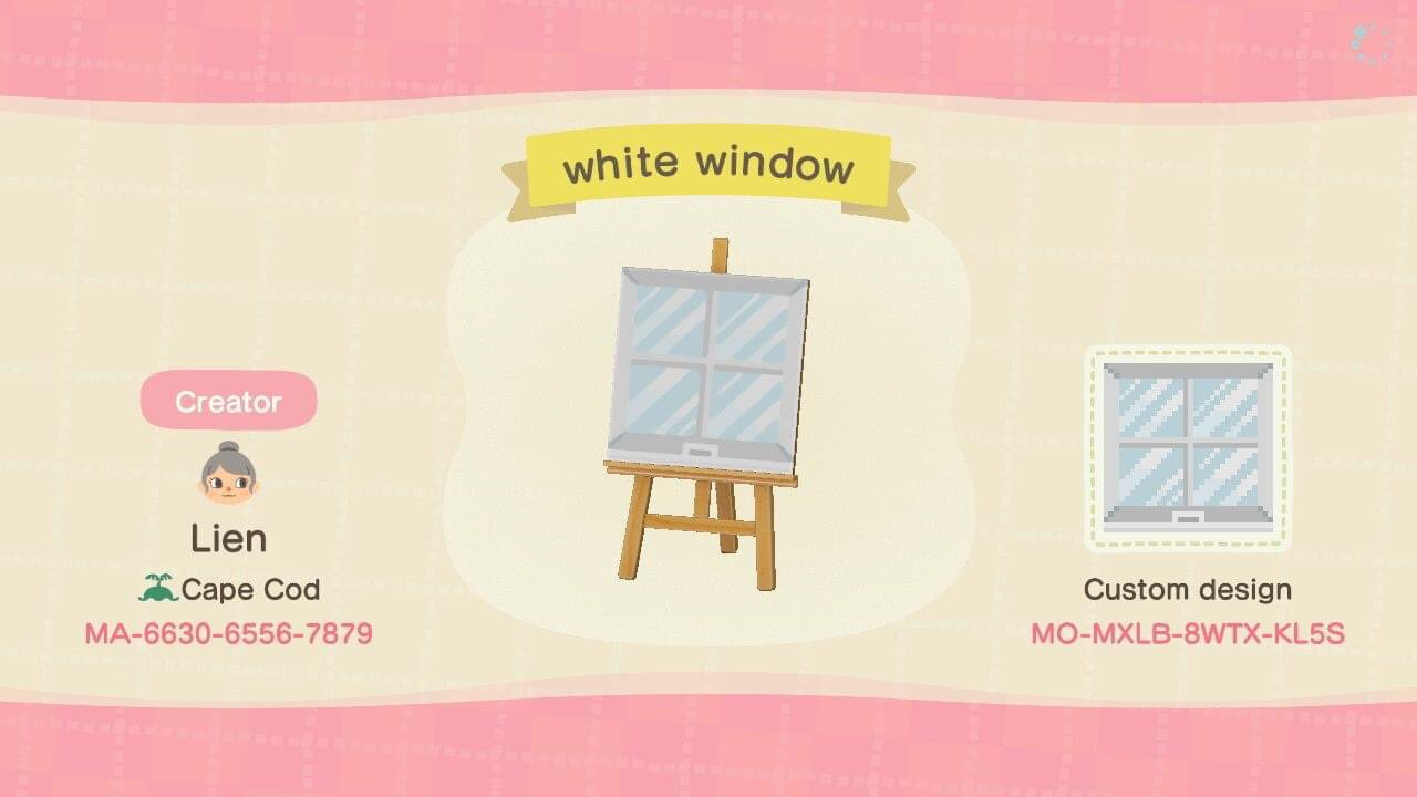 White Window - Animal Crossing Pattern Gallery & Custom ...