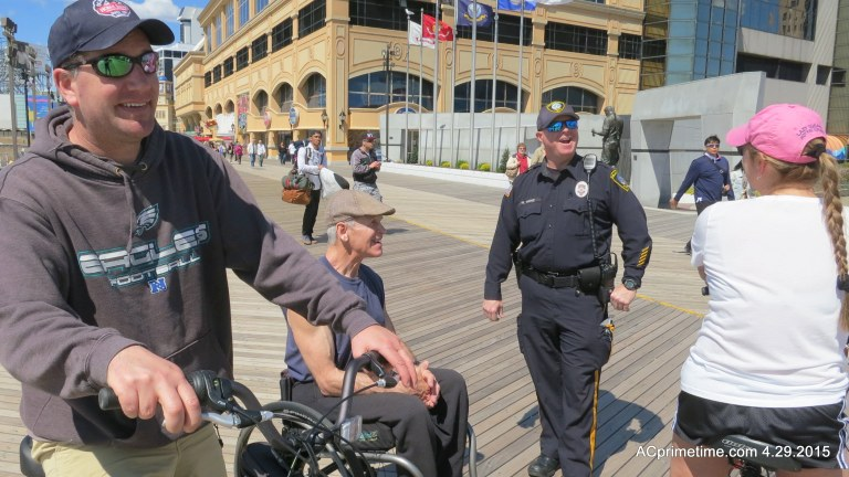 VIDEO > Atlantic City Police Officer Honored for Outreach on Boardwalk
