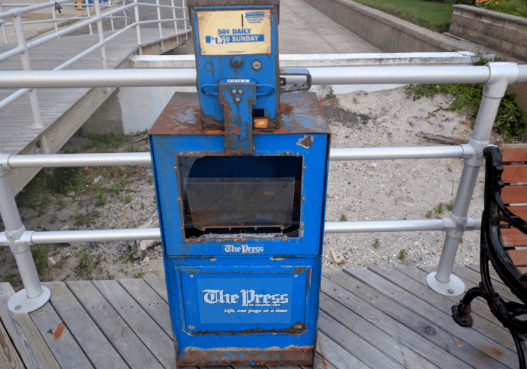 Press of Atlantic City Owner Admits Significant Newspaper Decline