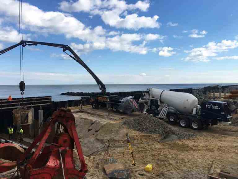 Concrete Plays Major Role in Atlantic City Boardwalk Project