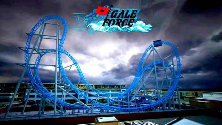 GaleForce Rollercoaster in Ocean City Ready to Thrill Summer 2017