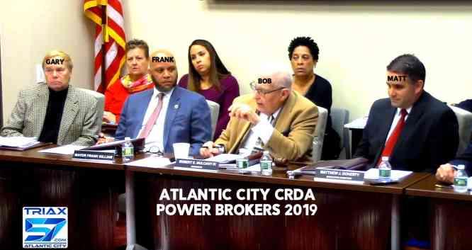 CRDA Atlantic City Frank Gilliam Gary Hill