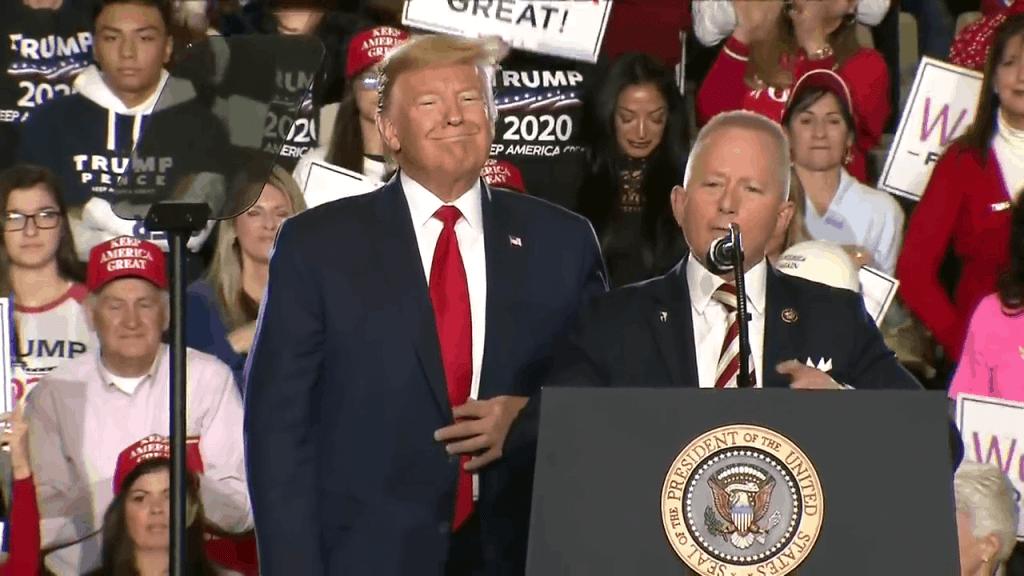 Jeff Van Drew Supports President Trump in Wildwood