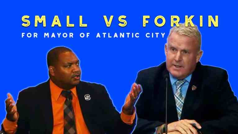 VIDEO: Forkin vs Small in Atlantic City Mayor Debate