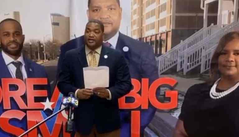 VIDEO: Atlantic City Mayor Marty Small Smacks Camera From Man's Hand