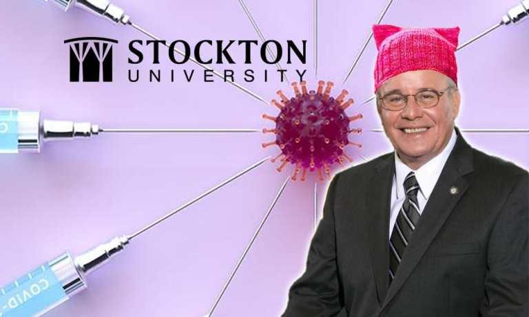 Stockton's Kesselman: Mandatory Vax & Racism Classes for Students, But Not Teachers.