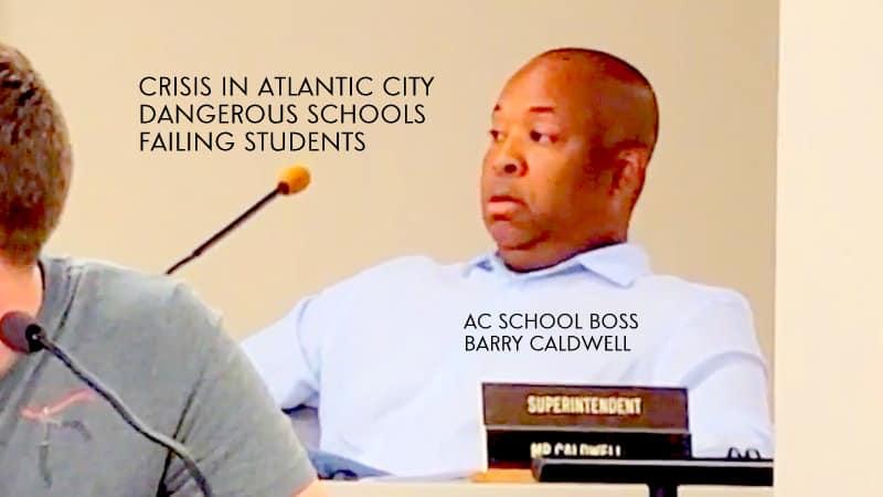 Atlantic City School Superintendent Caldwell