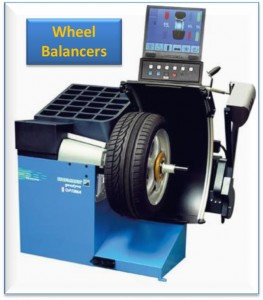 tyre equipment - wheel balancers