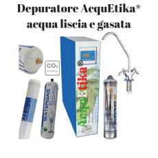 sistema ultrafiltrazione acqua con gasatore