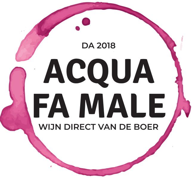 Logo van wijnhandel Acqua Fa Male in Eindhoven
