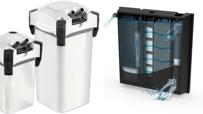 Filtro interno vs filtro esterno da che parte stare for Filtro vasca pesci