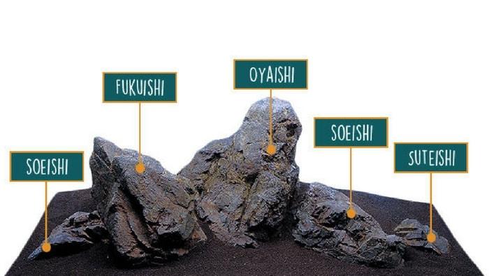 iwagumi ordine rocce