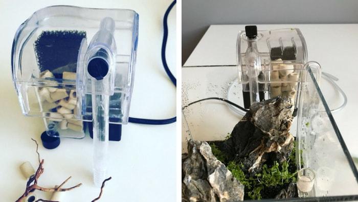 filtro nano acquario