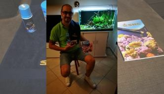 Acquario naturale: la vasca di Salvatore Scalise, 3° classificato al Contest SHG