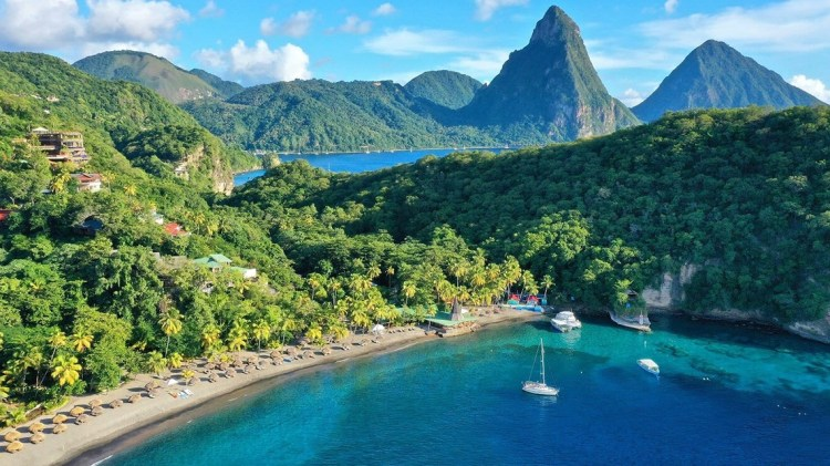 Anse Chastanet Resort, Soufriere, St Lucia