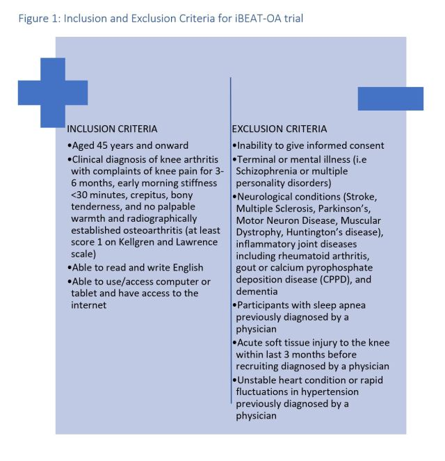 A Randomised Controlled Trial Evaluating the Efficacy of Internet