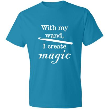 Crochet hook magic wand lightweight 4.5 oz t-shirt