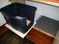 Litterbox Hide-A-Way, DIY Style! | The Craft Junkie