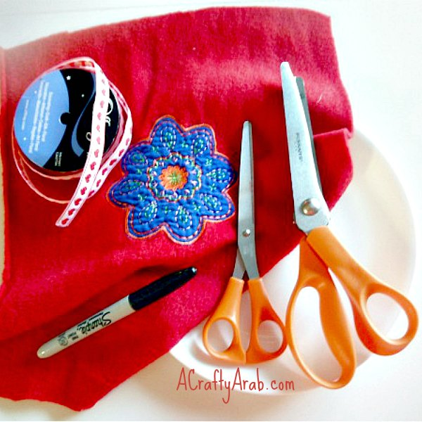 A Crafty Arab Eid Coin Bag Tutorial