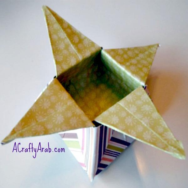ACraftyArab Jordan Almonds Origami Box