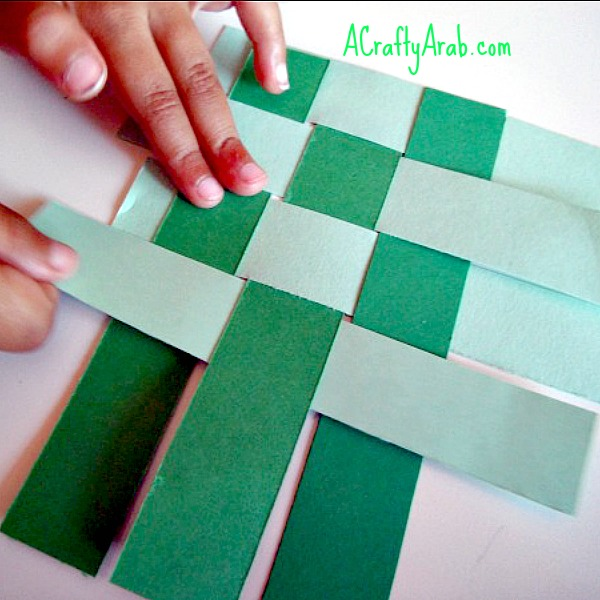 how to make ketupat with paper