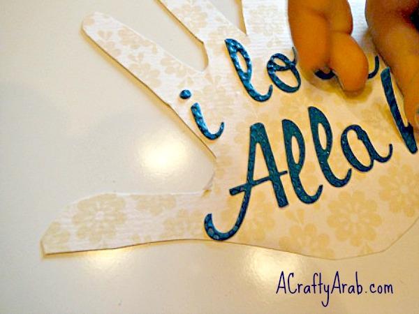 ACraftyArab I love Allah card5