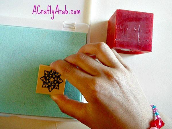 ACraftyArab Embossed Eid Candles2