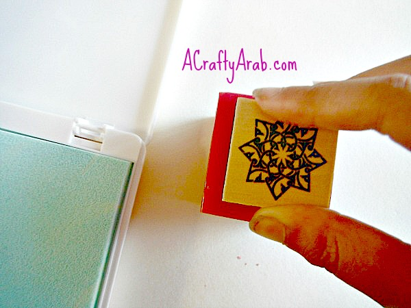 ACraftyArab Embossed Eid Candles3