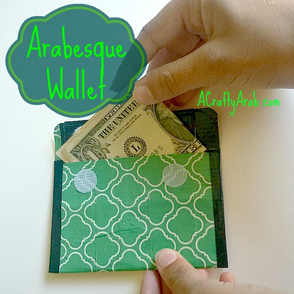 ACraftyArab Arabesque Wallet Tutorial