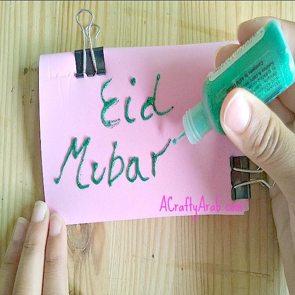 ACraftyArab Eid Money Envelopes