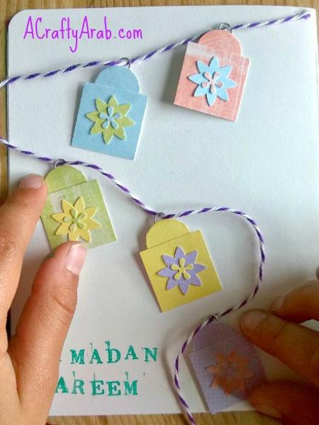 ACraftyArab Ramadan Lantern Card12