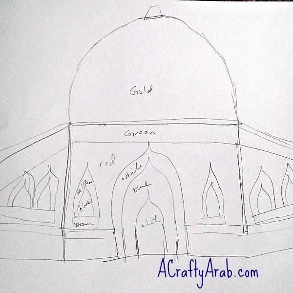 ACraftyArab Mosque Pillow5